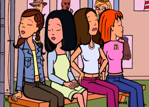 Daria Fashion Club - Stacy, Tiffany, Sandi, Quinn
